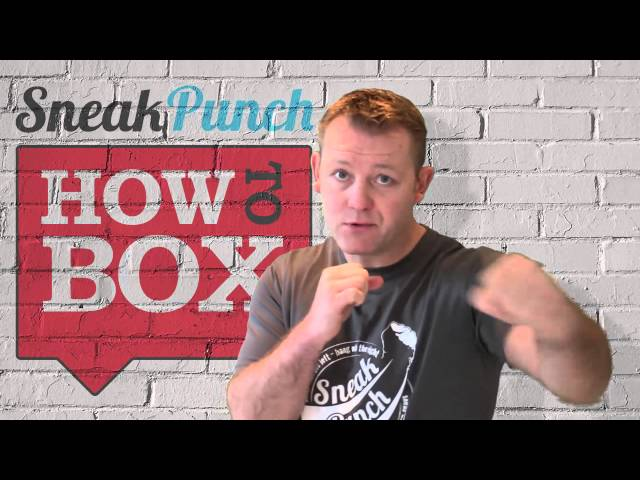 Don't Turn Your Head - How To Box