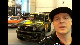 SUZUKI JIMNY COMFORT + ALL NEW MODEL SUV CAMOUFLAGE LOOK WALKAROUND + INTERIOR