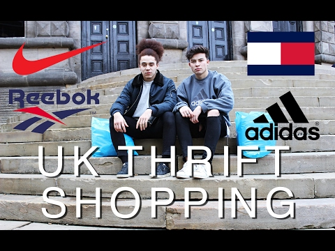 UK THRIFT SHOPPING (Adidas, Reebok, Diesel)