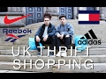 UK THRIFT SHOPPING (Adidas, Reebok, Diesel)
