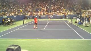 Tsonga vs Verdasco at the US Open 9/3/2011