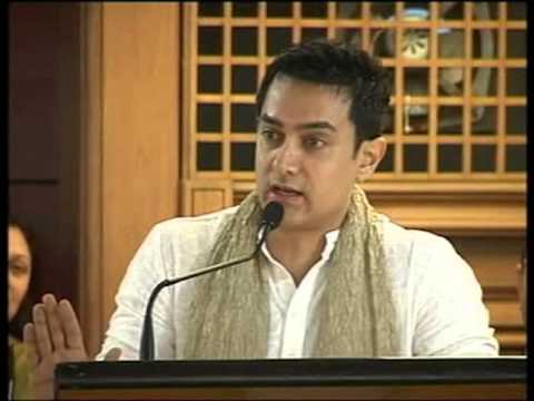 Speech by Amir Khan