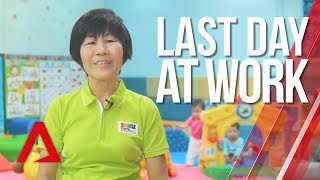Last Day at Work: Preschool teacher retires at the age of 70