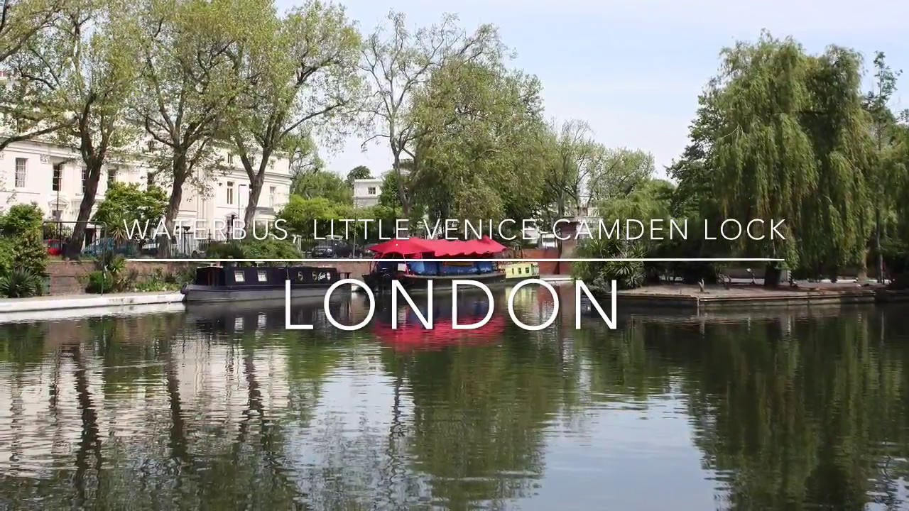 waterbus little venice camden lock london youtube. Black Bedroom Furniture Sets. Home Design Ideas