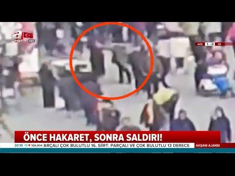Çatalca'da Başörtülü Kadına Alçak Saldırı / A Haber