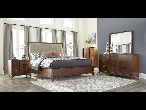 Simply Urban Bedroom Collection by Klaussner - YouTube