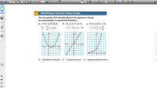 Repeat youtube video Comparing Linear, Exponential, and Quadratic Functions