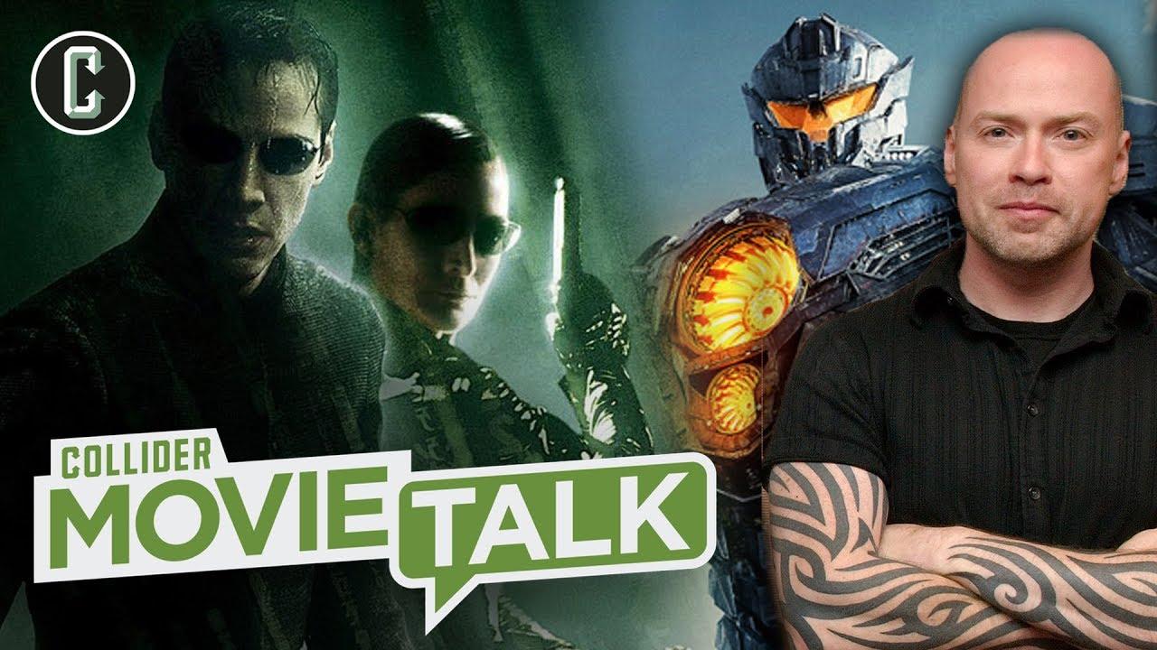 Matrix Reboot Updates; Pacific Rim Uprising's Steven DeKnight Guests – Movie Talk