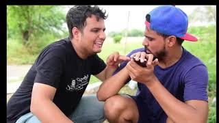 Hot girl Riya and Amit bhadana funny video(1)