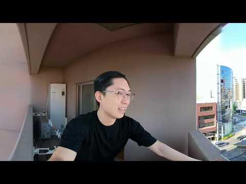 GOPRO FUSION: 360 Degree Kyoto Apartment Vlog Tour