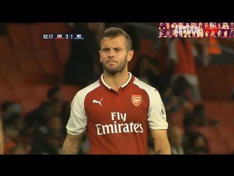 Jack Wilshere Arsenal U23 vs Manchester City U23 (Home) 2017-18 HD 720p