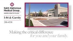 St. Alphonsus Medical Group (New ER on Garrity in Nampa)