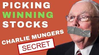 How to Pick Stocks 2019 (Charlie Mungers Golden SECRET)