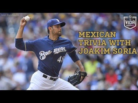 Mexican Trivia with Milwaukee Brewers' Joakim Soria