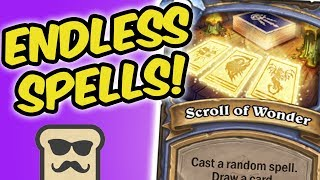 ENDLESS RANDOM SPELLS! FT. FEDMYSTER | RNG MAGE | HEARTHSTONE | DISGUISED TOAST