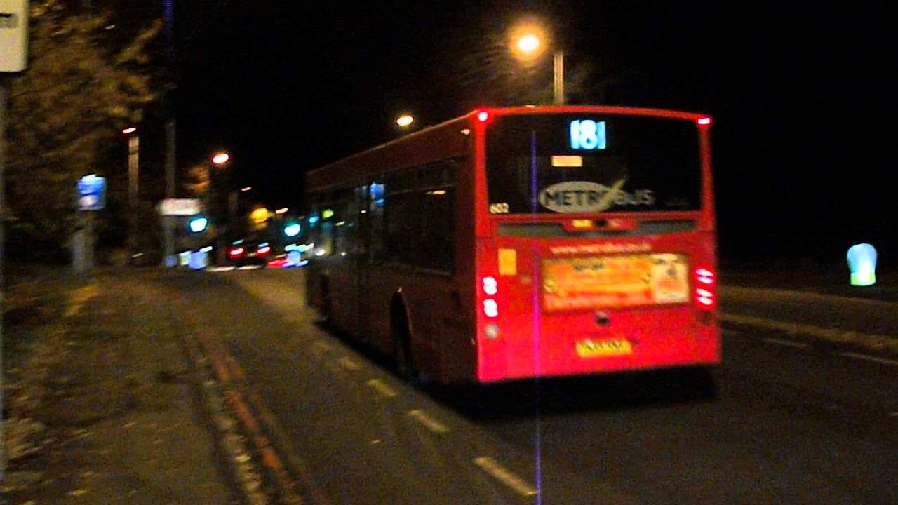 London Bus Route 181 at Farnborough Park (Not in Service)