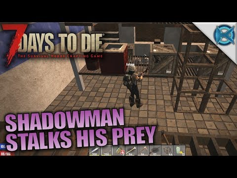 SHADOWMAN STALKS HIS PREY | 7 Days to Die | Let's Play Husband & Wife Gameplay | S05E12