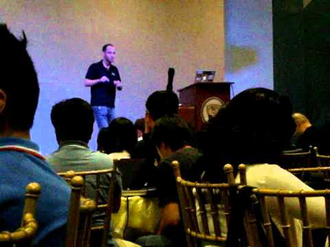 Oliver Klein, AWS Solution Architect at AWS Developer Day, Manila, PH