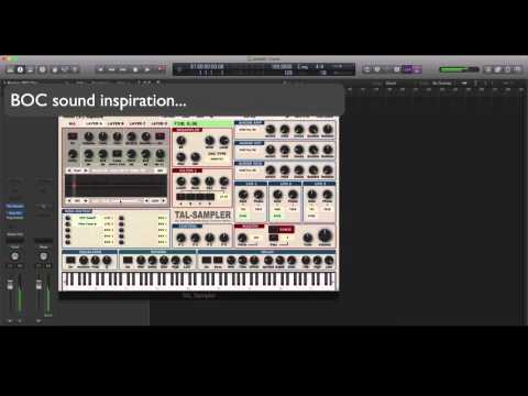 BOC sound inspiration, playing with TAL sampler