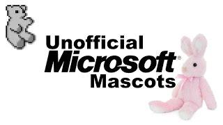Unofficial Microsoft Mascots