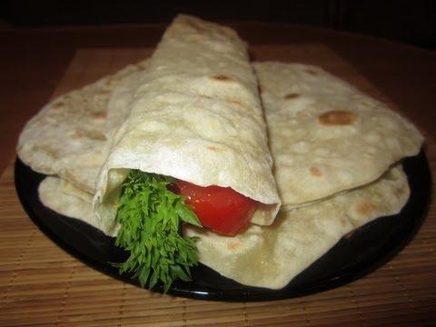 Сколько калорий в лаваше армянском и грузинском