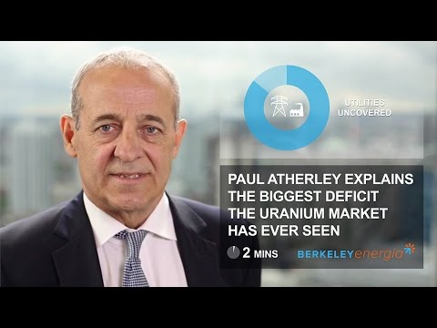 Paul Atherley Uranium Supply Deficit 720