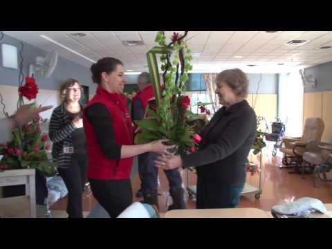 Opération Bouquet de sourires – Palais des congrès de Montréal