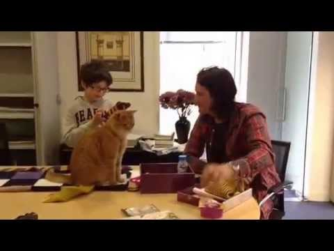 Matteo meets Street Cat Bob & James Bowen