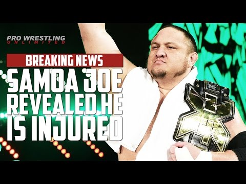 BREAKING NEWS: Samoa Joe Reveals He Is Injured Not Cleared To Compete