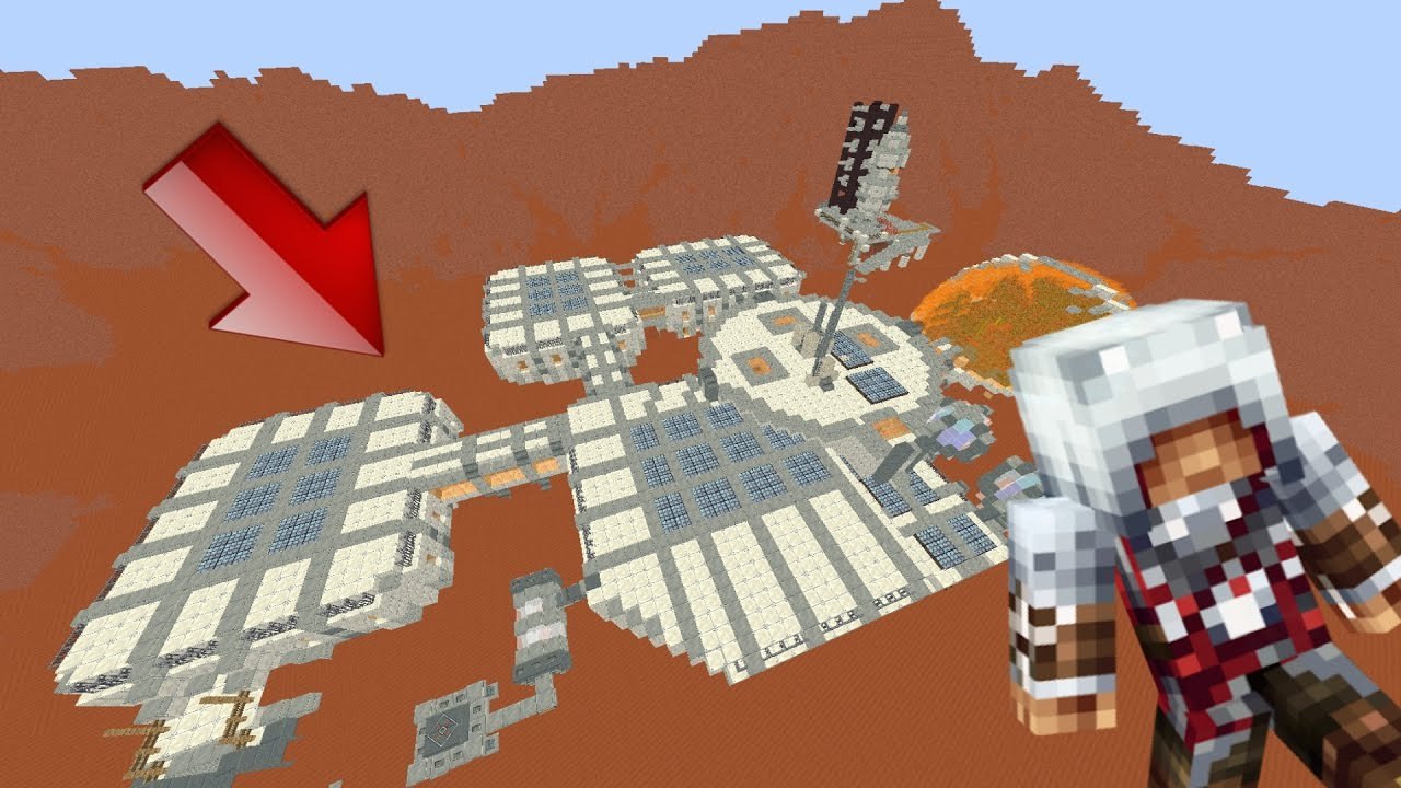 MISSION IMPOSSIBLE SUR MARS ! Minecraft: Mars Base - YouTube