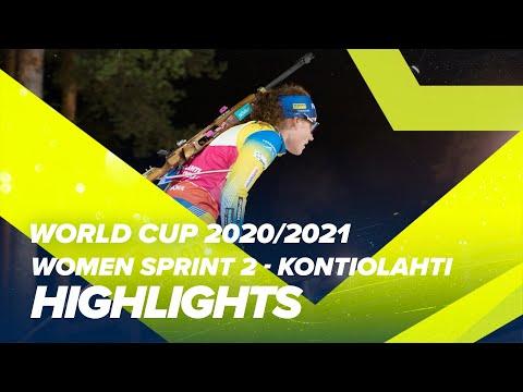 Kontiolahti World Cup 2 Women Sprint Highlights