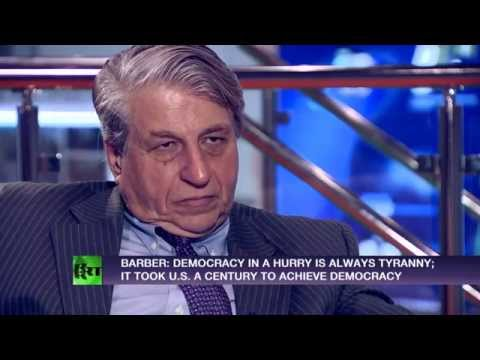 McWorld created Jihad, democracy is the solution to both - political theorist