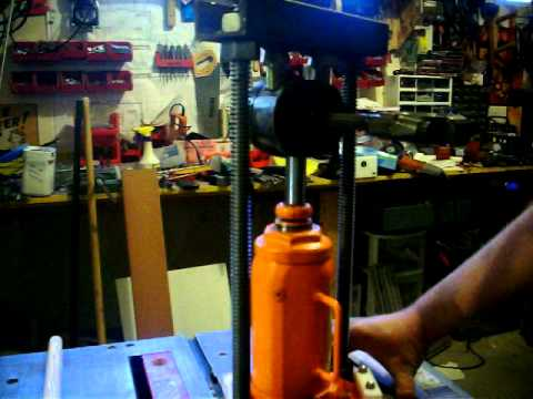 Axelsmancave Chevy V6 Piston Wrist Pin Press - Homemade ...