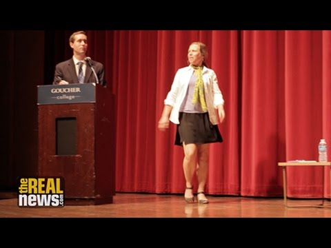 Green Party Senate Candidate Removed From Debate Stage