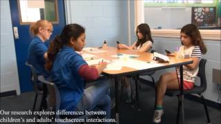 Characterizing How Interface Complexity Affects Children