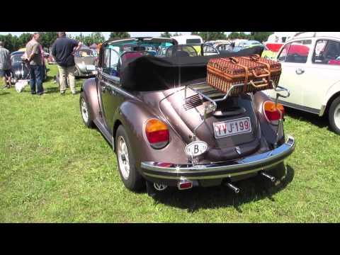 1974 volkswagen beetle convertible @ Herentals 2013