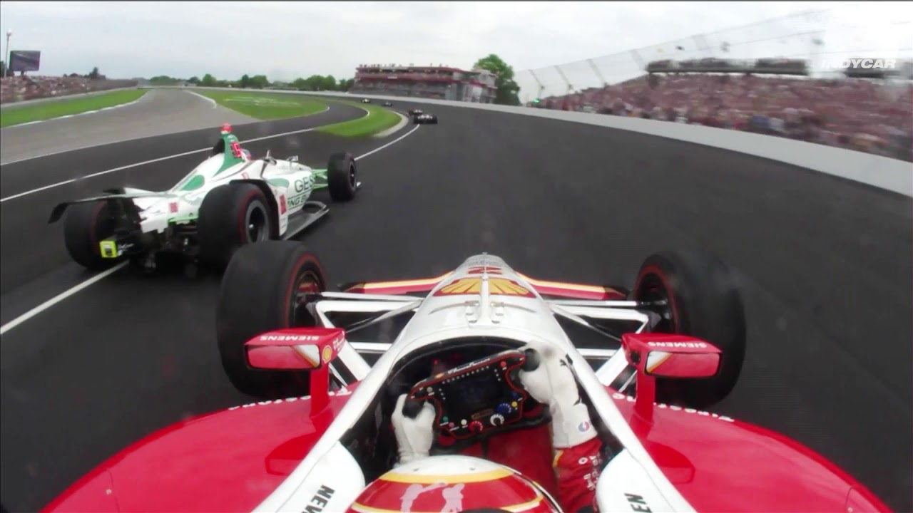 How Many Laps In Indy 500 >> Thrilling Lap 1 Onboards Form The 2019 Indy 500 Youtube
