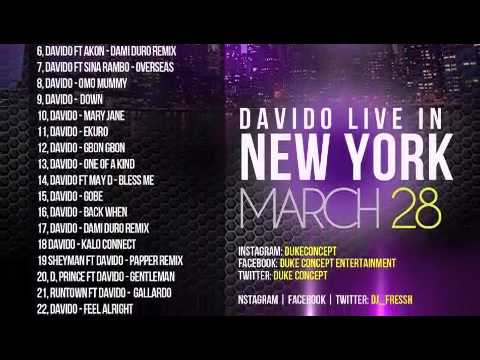 Davido Mixtape - Overload by Duke Concept ft Dj Fresh