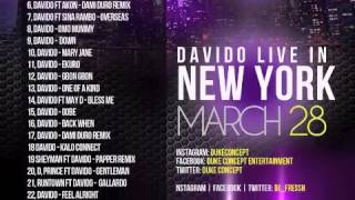 Davido Mixtape - Overload by Duke Concept ft Dj Fresh