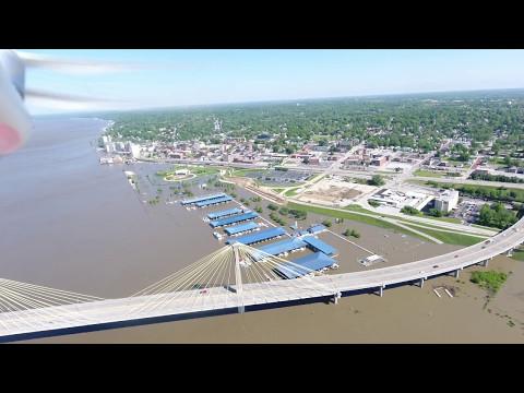 Mississippi River Flooding at Alton, IL