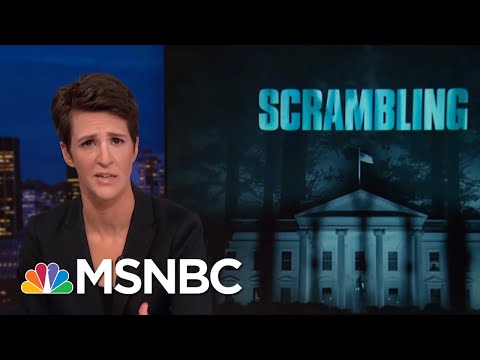 President Donald Trump's Scramble To Block Congressional Investigations | Rachel Maddow | MSNBC
