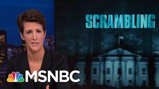 President Donald Trump's Scramble To Block Congressional Investigations | Rachel Maddow | MSNBC