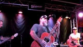 """Scott Kelly and The Road Home """"We Let The Hell Come"""" The Slidebar. 10-1-2012"""