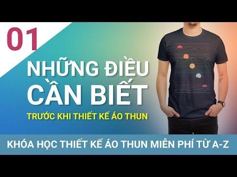 Bài 1- Những điều cần biết trước khi thiết kế áo thun - chuhedesign.net | Foci