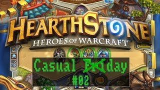 Casual (Fri)day: Hearthstone #02 - Casual Deck V2 [ Beta / Deutsch / FullHD / Gameplay ]