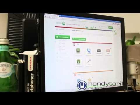 SmartPhone Senioren Smartphone Doro Phoneeasy 740 Im Test Von Handytarife