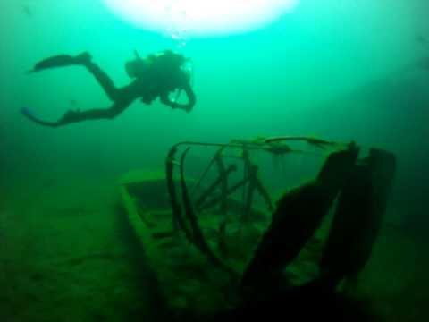 Diving in Gilboa Quarry Ohio 2