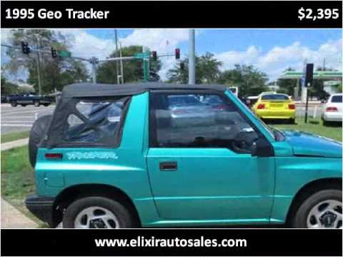 Cars For Sale Jacksonville Fl >> 1995 Geo Tracker Used Cars Jacksonville FL - YouTube