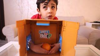 ايش الي بداخل الصندوق ؟