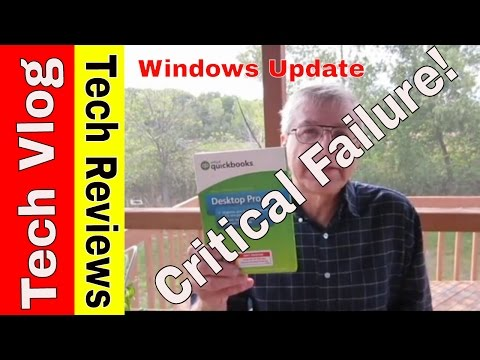 Critical QuickBooks Pro Failure after Windows 10 Update